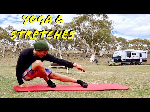 SNOWBOARDING STRETCHES FOR GRABS & FLEXIBILITY