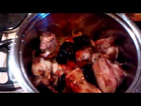Говяжьи ребрышки с черносливом Рецепты с фото