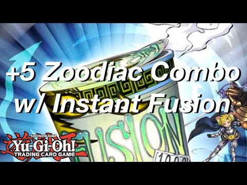 Yu-Gi-Oh! +5 Zoodiac Combo w/Instant Fusion (April 2017 Format)! #BanNorden