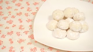 How To Make Snowball Cookie (스노우볼 쿠키 만들기) | Sweethailey