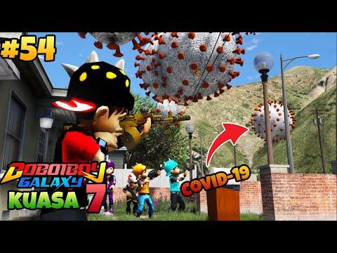 GTA 5 MOD BOBOIBOY KUASA 7 BASMI VIRUS COVID-19 CORONA