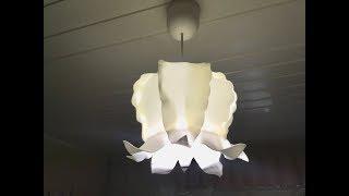 Бесплатный мастер-класс светильник из изолона