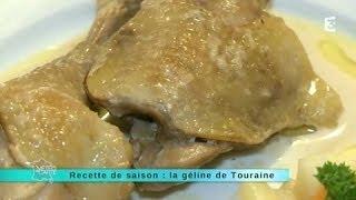 Recette de saison : la géline de Touraine