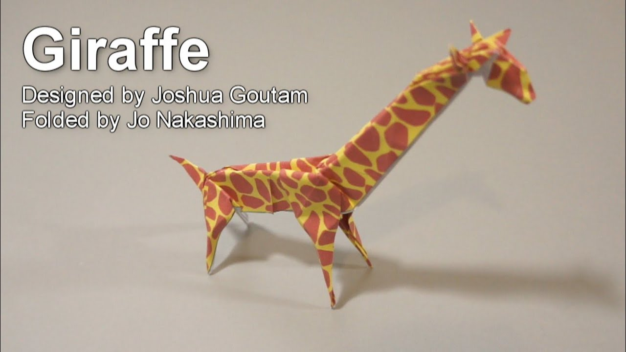 Pin Easy Origami Giraffe Folding Instructions Step Diagram ... - photo#10