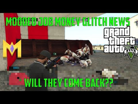 "GTA5 Online Glitches *NEW* MODDED MONEY JOB UPDATE INFO! NEW XBOX/PS4 INFO ""Modded Job Info"""