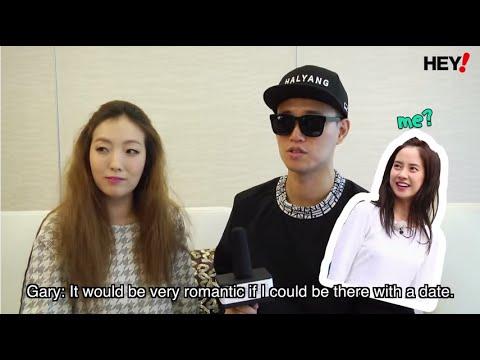 HEY! video: Running Man host Kang Gary & Korean star Jung In at NTU Fest 2014 in Singapore (Eng sub)