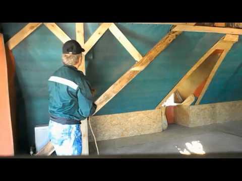 Как заменить крышу дома на мансарду