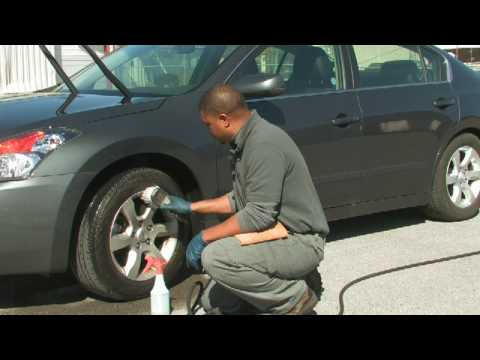 Car Cleaning Tips : How to Clean Road Dirt From Car Tires