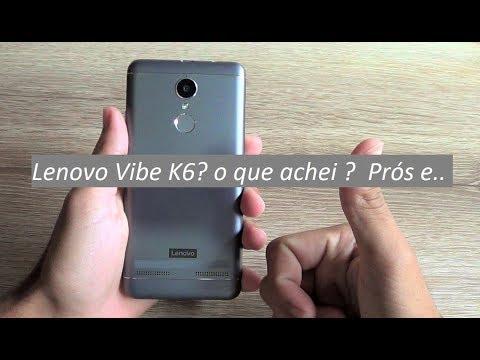 Lenovo Vibe K6 - Conclusão após 3 meses de uso - Saiba toda a verdade