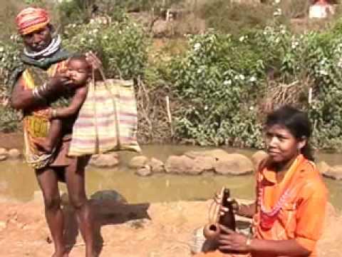 Tribal Area in Orissa