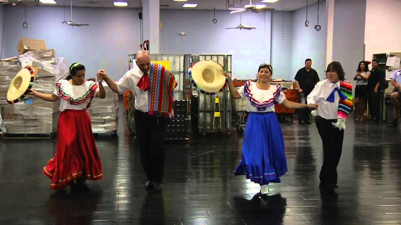 Dancing Hispanic Hertiage