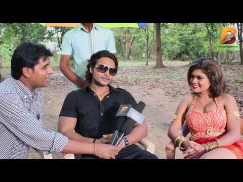 Bhojpuri Film Sanam Hmar Hau - सनम हमार हऊ - निशा दुबे विद निसार खान on Location Shoot