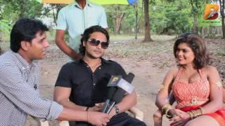 bhojpuri film sanam hmar hau   सनम हमार हऊ   निशा दुबे विद निसार खान on location shoot