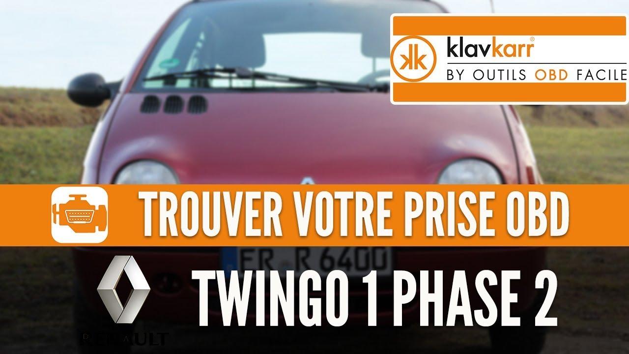 Prise Obd Twingo 1 Renault Où Trouver Mon Connecteur Obd2 Youtube