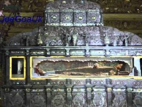 Basilica Of Bom Jesus Old Goa Youtube