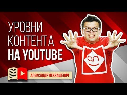 Уровни контента на YouTube. Какой контент интересен людям?