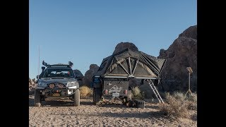 FreeSpirit Overland Trailer and High Country Rooftop Tent Walk Around