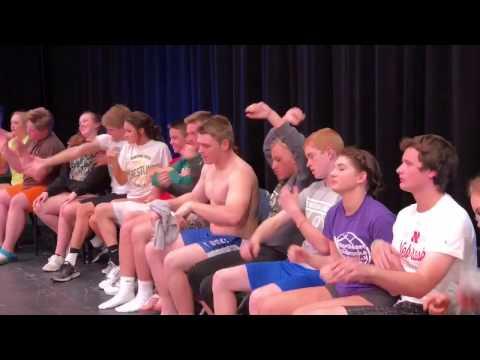 Post Prom Hypnotic Mannequin Challenge 4/9