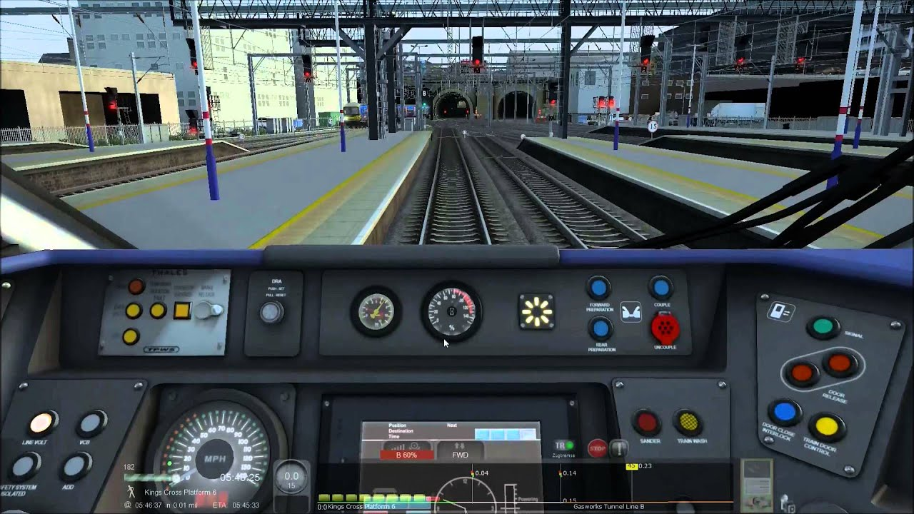 train simulator 2015 hitachi class 801 youtube. Black Bedroom Furniture Sets. Home Design Ideas