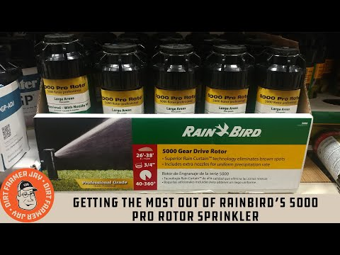 Getting The Most Out Of Rainbird®'s 5000 Pro Rotor Sprinkler