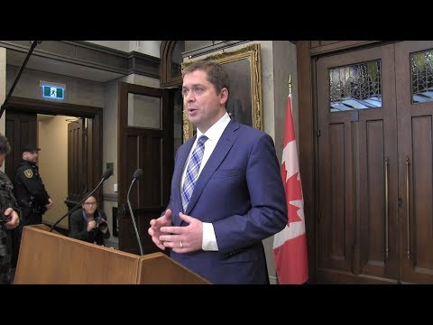 Scheer calls for parliamentary inquiry into Liberals' SNC-Lavalin dealings