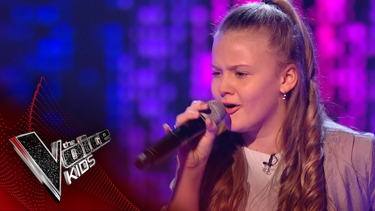 Jess F Performs Ain T Got Far To Go Blinds 2 The Voice Kids Uk 2017 Youtube