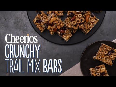 Maca Cashew Coconut Trail Mix Bars