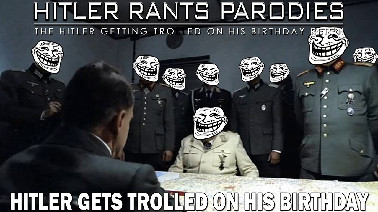 Hitler get trolled on his birthday