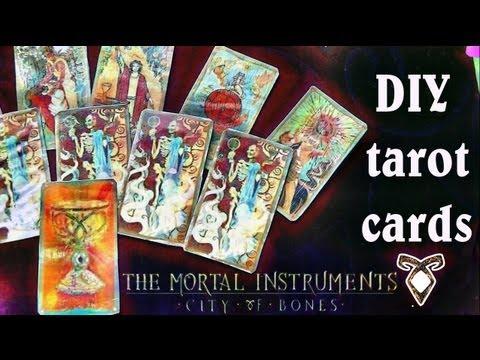 Diy Mortal Instruments Tarot Cards Coco Chanou