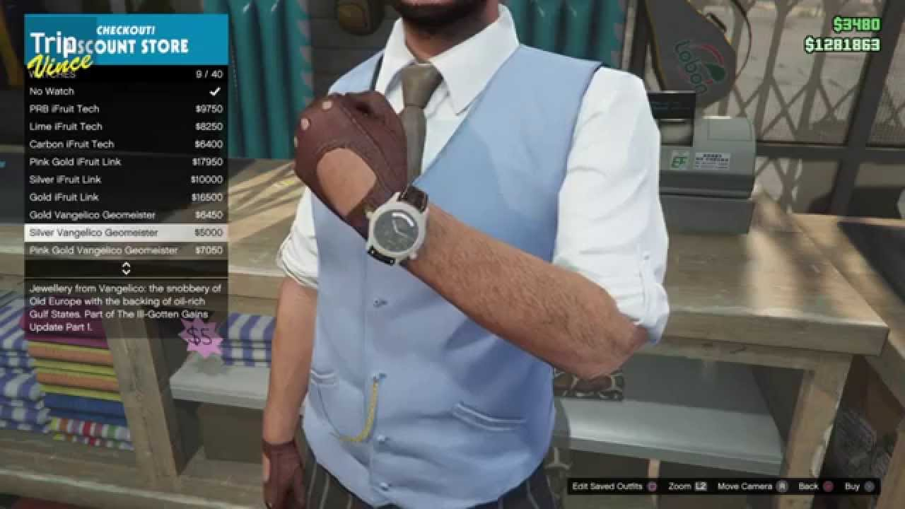 Gta 5 New Watches Earrings And Chains Ill Gotten Gains