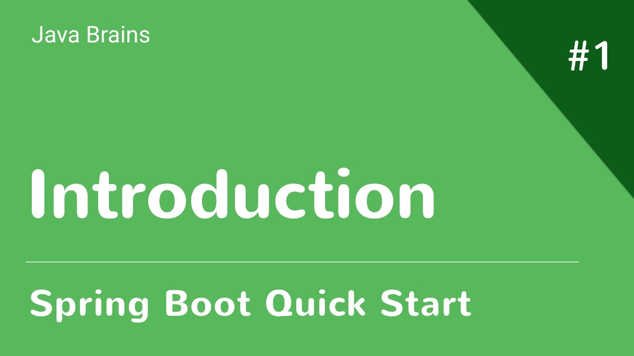 Spring Boot Tutorial - Java Brains | ProgTube - Free Online
