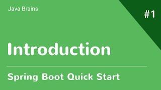 Spring Boot Tutorial - Java Brains