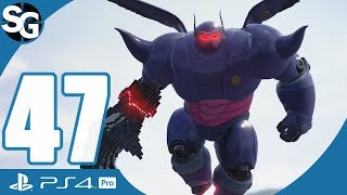 Kingdom Hearts 3 Walkthrough Gameplay (No Commentary) | Dark Baymax Boss Fight - Part 47