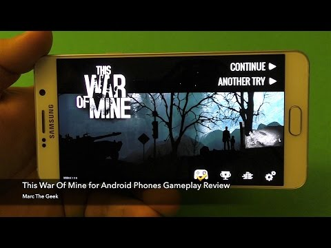 This War Of Mine for Android Phones Gameplay Review