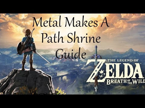 Metal Makes a Path Shrine Guide