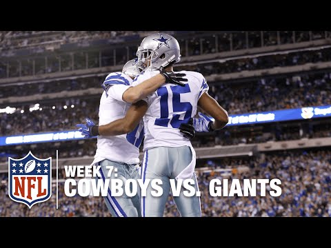Devin Street Does His Best Santonio Holmes Impression on this TD! | Cowboys vs. Giants | NFL