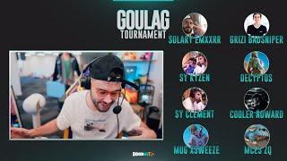 LeBouseuh : GOULAG TOURNAMENT #4 → Only Pro (Emxxrr,BadSniper,Kyzen,Decyptos,Clement,Noward,Xsweeze.