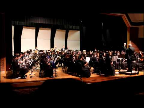 Fulton County High School Honor Symphonic Band Nov 2012