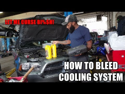 HOW TO BLEED COOLING SYSTEM