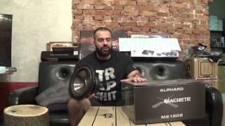 Alphard Audio Machete MS10 & MS15 review in ENGLISH!!