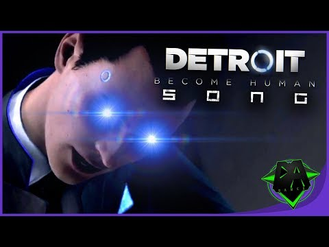 Detroit Become Human Song (Wake Up Lieutenant) Lyric Video - DAGames