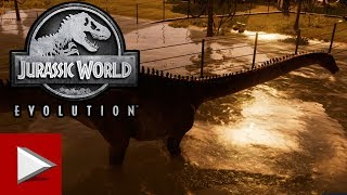 JURASSIC WORLD EVOLUTION - ISLA MUERTA - Unlocking SCIENCE Mission - HD Gameplay - No Commentary