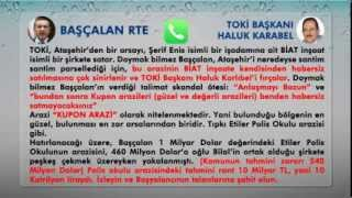 Erdoğan Ülkeyi Santim Santim Parsellemiş, TOKİ Başkanını Fırçalıyor