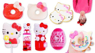 Hello kitty Dessert Mukbang 헬로…