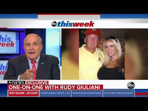 RUDY GIULIANI FULL INTERVIEW WITH GEORGE STEPHANOPOULOS (5/6/2018)