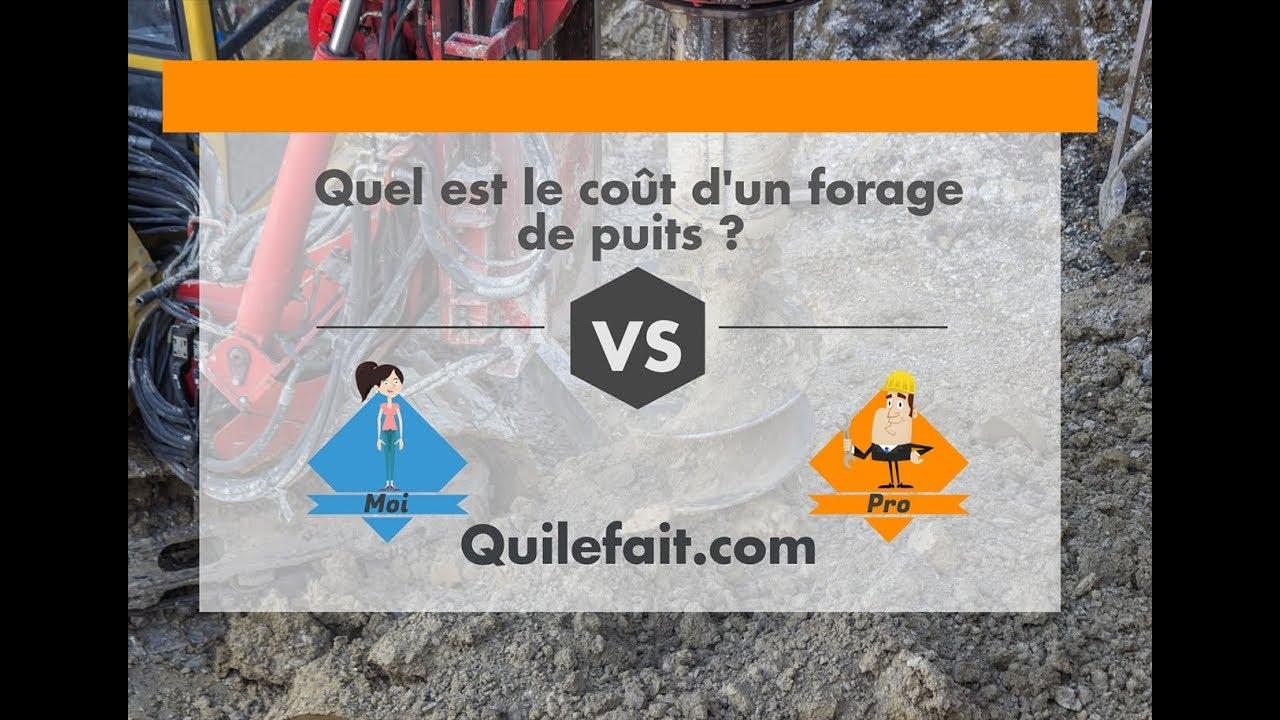Prix D Un Puit concernant prix d'un forage / puit : par moi ou par un pro ? - youtube