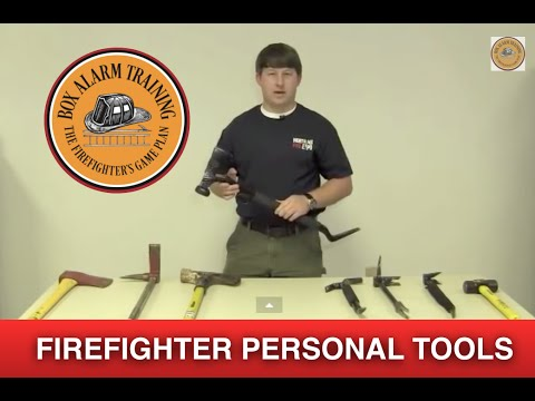 Personal Firefighter Tools