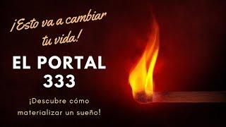 Portal dimensional 333. El 3 de marzo de 2019 se abre un portal para la abundancia y los milagros.