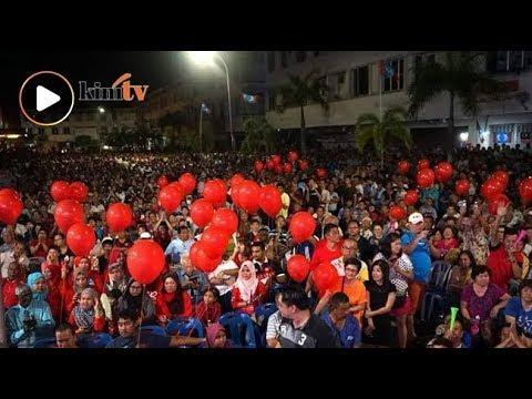 Ribuan rakyat Teluk Intan penuhi tapak ceramah HARAPAN
