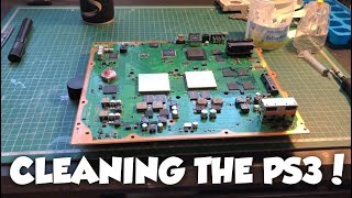 Cleaning And Maintaining The PS3!